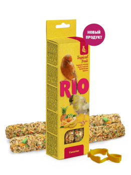 Рио Палочки для канареек с тропическими фруктами 2шт*40г