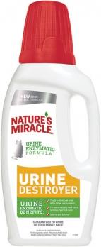 8in1 уничтожитель пятен, запахов и осадка от мочи кошек NM Urine Destroyer 945 мл