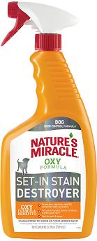 8in1 уничтожитель пятен и запахов от собак NM Orange-Oxy с активным кислородом, спрей 709 мл(замена 5057006)