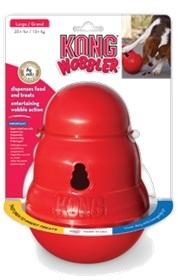 KONG игрушка интерактивная для средних и крупных собак Wobbler