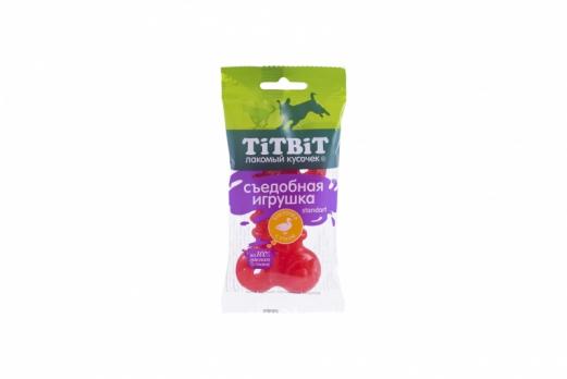 TiTbiT Съедобная игрушка косточка с уткой Standart 014424