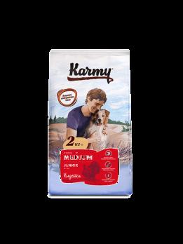 Karmy Medium Junior сухой корм для щенков средних пород Индейка