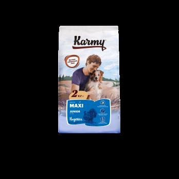 Karmy Maxi Junior сухой корм для щенков крупных пород Индейка