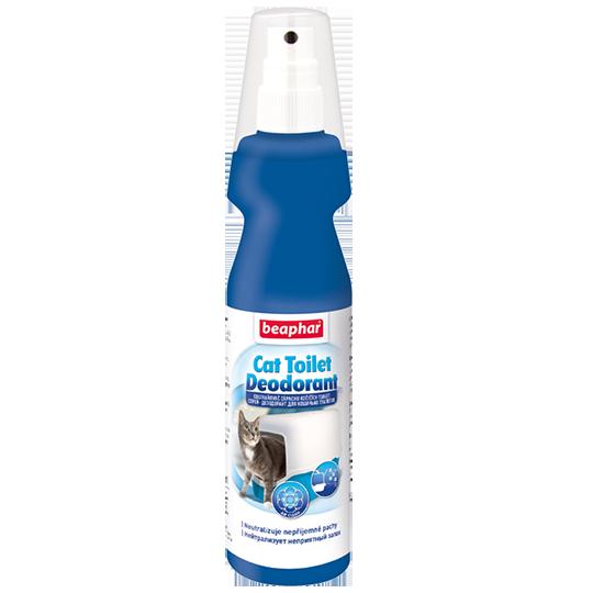 Beaphar Дезодорант для кошачьих туалетов (Odour killer for cats)