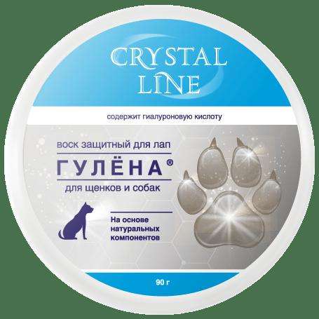 Apicenna Гулена защитный воск для лап Crystal line 0,09