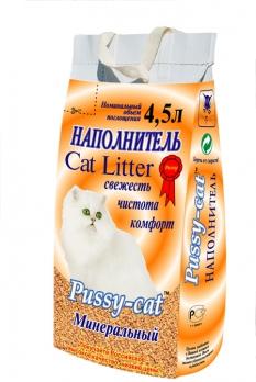 Pussy-cat минеральный наполнитель 4.5 л