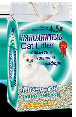 Pussy-cat океанический наполнитель