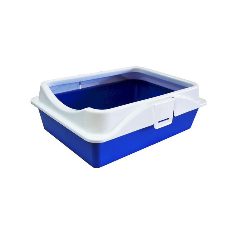 Зооэкспресс туалет RICH с рамкой на защелках 41*30*14 см