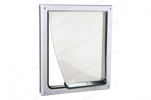 Trixie Дверь для животных S-M 22,5*29,5 см белая арт 3878