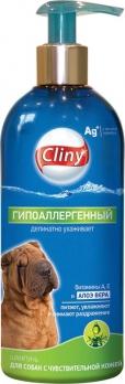 Cliny Шампунь для собак с чувствительной кожей Гипоаллергенный 300мл