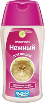 Агроветзащита Шампунь Нежный для кошек гипоаллергенный АВ830 0,18