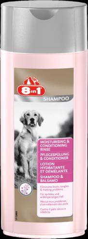 8in1 Кондиционер-ополаскиватель для собак увлажняющий (Moisturising & Conditioning Rinse)