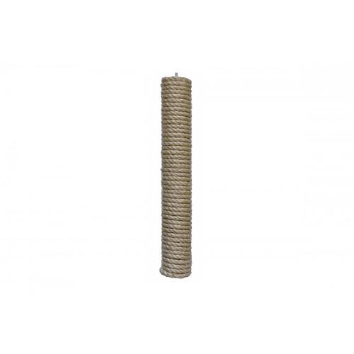 Дарэлл 8304 ZooM Столбик сменный д/когтеточки, льнопеньковая веревка 50*450мм