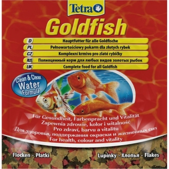 Tetra Goldfish корм в хлопьях для всех видов золотых рыбок