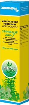 Зоомир УНИФЛОР аква-7 минеральное удобрение (нейтральное)100мл