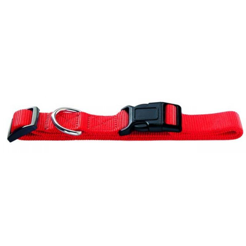 Hunter Ошейник для собак Ecco XS (22-34 см) нейлон красный