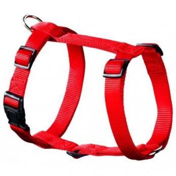 Hunter Smart шлейка для собак Ecco Sport S (30-45/33-54 см) нейлон красная (28009)