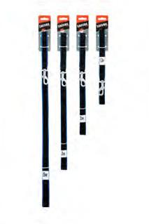 Saival Premium Поводок «Цветной край» 15мм длина 5,0м синие края