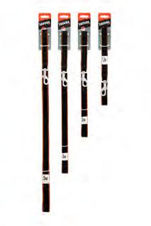 Saival Premium Поводок «Цветной край»15мм длина 3,0м оранж края