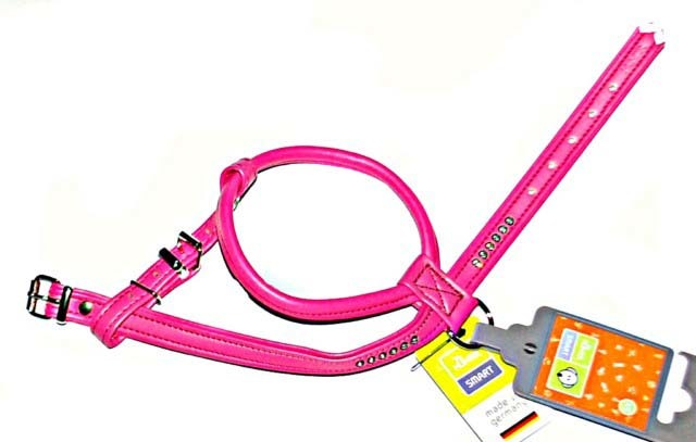 Hunter Smart шлейка для собак Modern Art R&S Luxus 40/11 (27/32-38 см) кожзам розовый