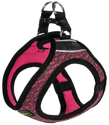Hunter шлейка для собак Hilo Soft Comfort 36-40 см, сетчатый текстиль, розовая