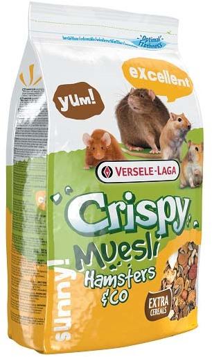 VERSELE-LAGA корм для хомяков и других грызунов Crispy Muesli Hamsters & Co