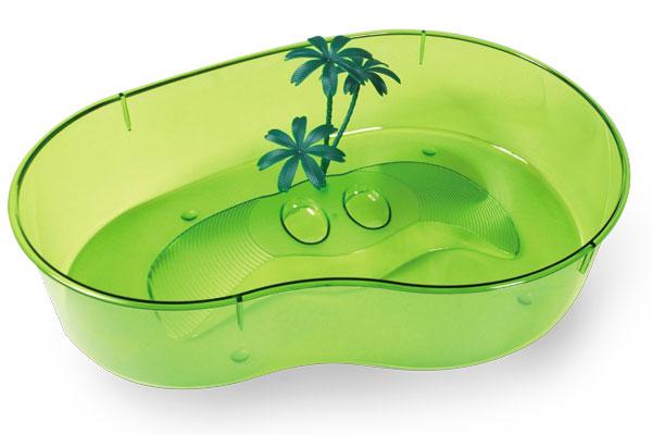MP-Bergamo CAPRI MAXI Пластиковая чаша для черепах (40*28*9.5cм)