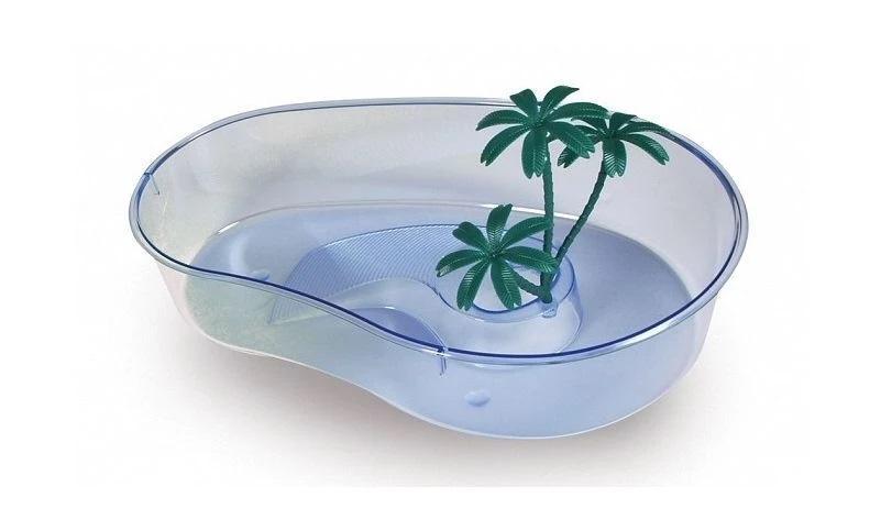 Пластиковая чаша для черепах MP-Bergamo CAPRI MINI (32*21*7cм) 1/16