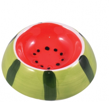 КерамикАрт миска керамическая для грызунов 10 мл Арбузик