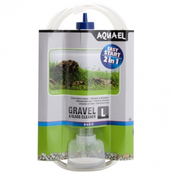 AQUAEL Грунтоочиститель GRAVEL L (колба 33 см)
