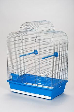 Клетка InterZoo  P-006 IZA I ZINC (450х280х615мм), для птиц, прут цинк