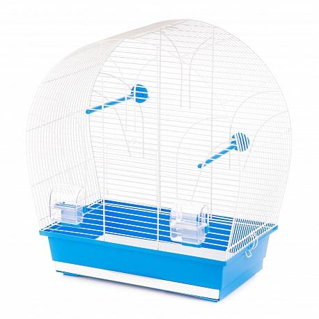 Клетка InterZoo  P-020 TINA WHITE (510х280х550мм), для птиц, прут белый
