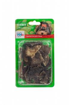 TiTBiT Набор для дрессуры №4 для собак, желудок говяжий